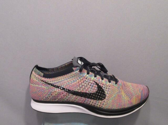 c5c3da4a4105 Nike Flyknit Racer Multi Color 526628-004 All Sizes in Stock 11.5women 13