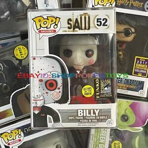 Funko Pop!Saw Billy #52 Vaulted Rare Vinyl Figure Mint Condition(With Protector)