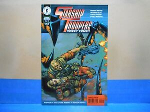 STARSHIP-TROOPERS-INSECT-TOUCH-2-of-3-1997-Dark-Horse-Comics-Uncertified
