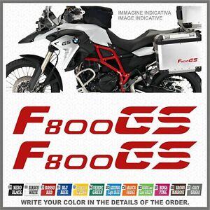 2x f800 gs red bmw motorrad adesivi pegatina stickers. Black Bedroom Furniture Sets. Home Design Ideas