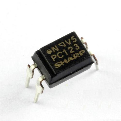100Pcs PC123 Triac Driver IC Optoisolator Photocoupler Optocoupler DIP-4 GOOD