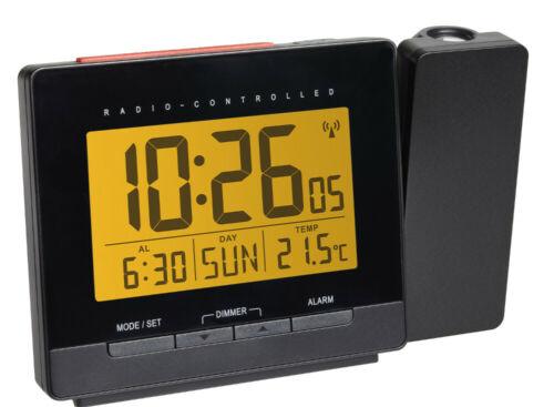 TFA 60.5016.01 Projektionswecker digital Temperatur Funkwecker Snooze Datum