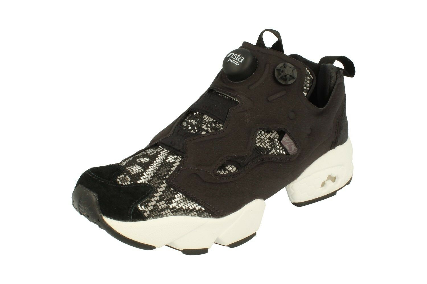 Reebok Instampump Fury Gt Womens Running Trainers Sneakers BD4462