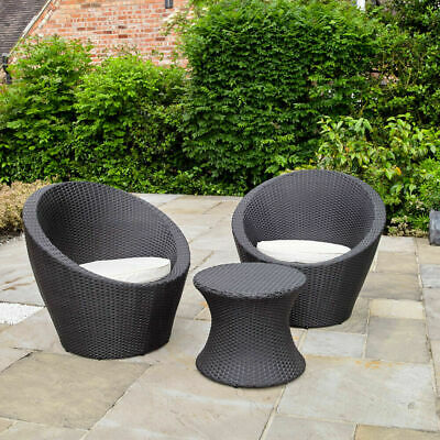 2 Egg Chairs Outdoor Garden Furniture