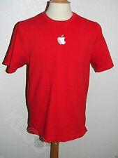 Apple Genius Bar Official Men's Red Uniform Work Shirt size L