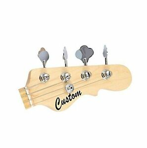Custom Cut Vinyl Headstock Decals FREE Fender Guitar Pick EBay - Custom vinyl decals for guitars