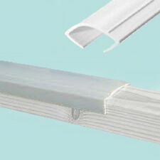 Window Capping 39mm White - 10m Roll - Caravan / Camper -   PO639