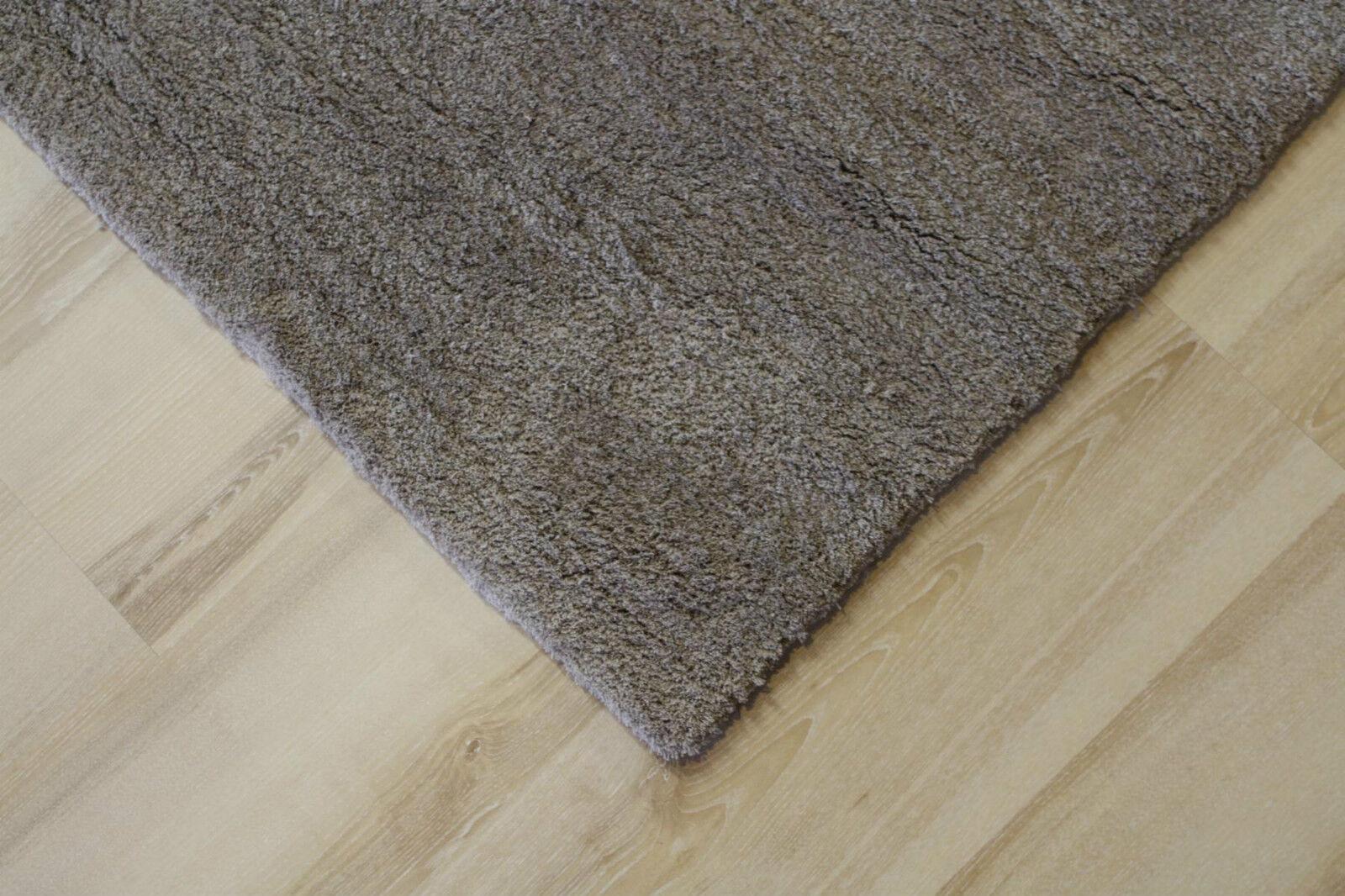 Teppich Langflor Astra Livorno 005 grau 70x140 cm weich