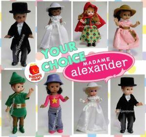 LOOSE-NO-TAG-McDonald-039-s-2002-MADAME-ALEXANDER-Wedding-Variation-PICK-Your-DOLL