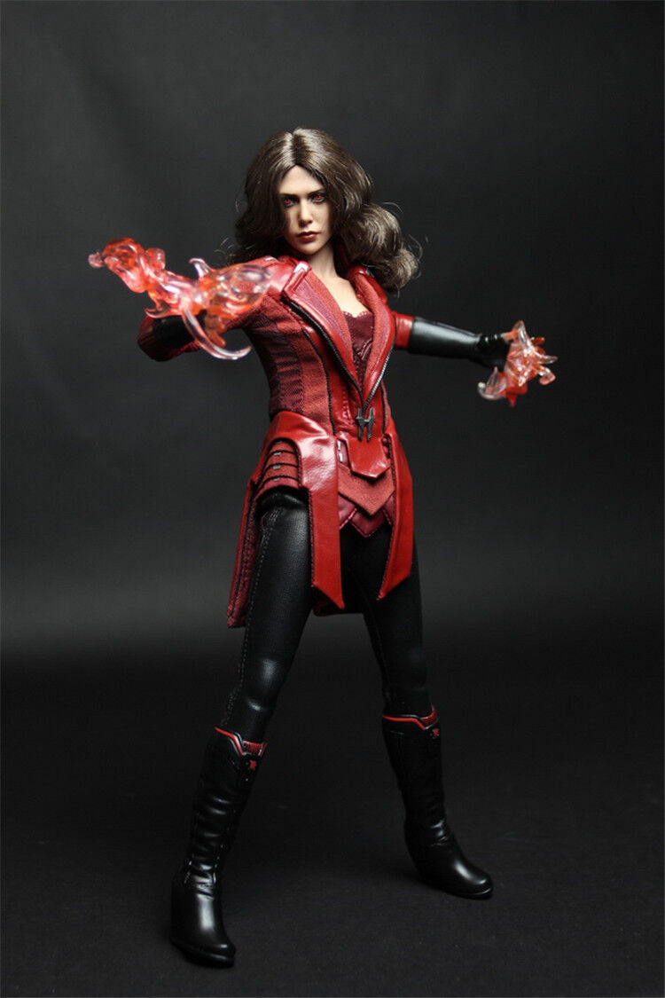1 6th The Avengers Scarlet Witch Clothing Suit W Accessories No Body&Head Figure