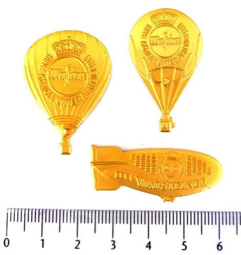 4072 WARSTEINER BALLON Pin GOLDSET 3 PINS!!!!!!!!! Pins
