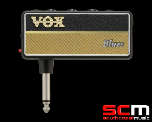 VOX amPlug AP2-BL BLUES HEADPHONE ELECTRIC GUITAR AMPLIFIER PRACTICE
