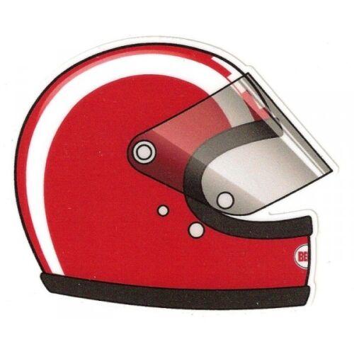 J SIFFERT helmet right Sticker droit