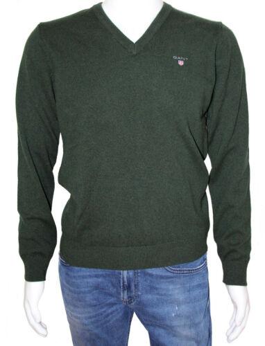 GANT Super Fine Lambswool V-Neck Feinstrickpullover Pullover aus Wolle