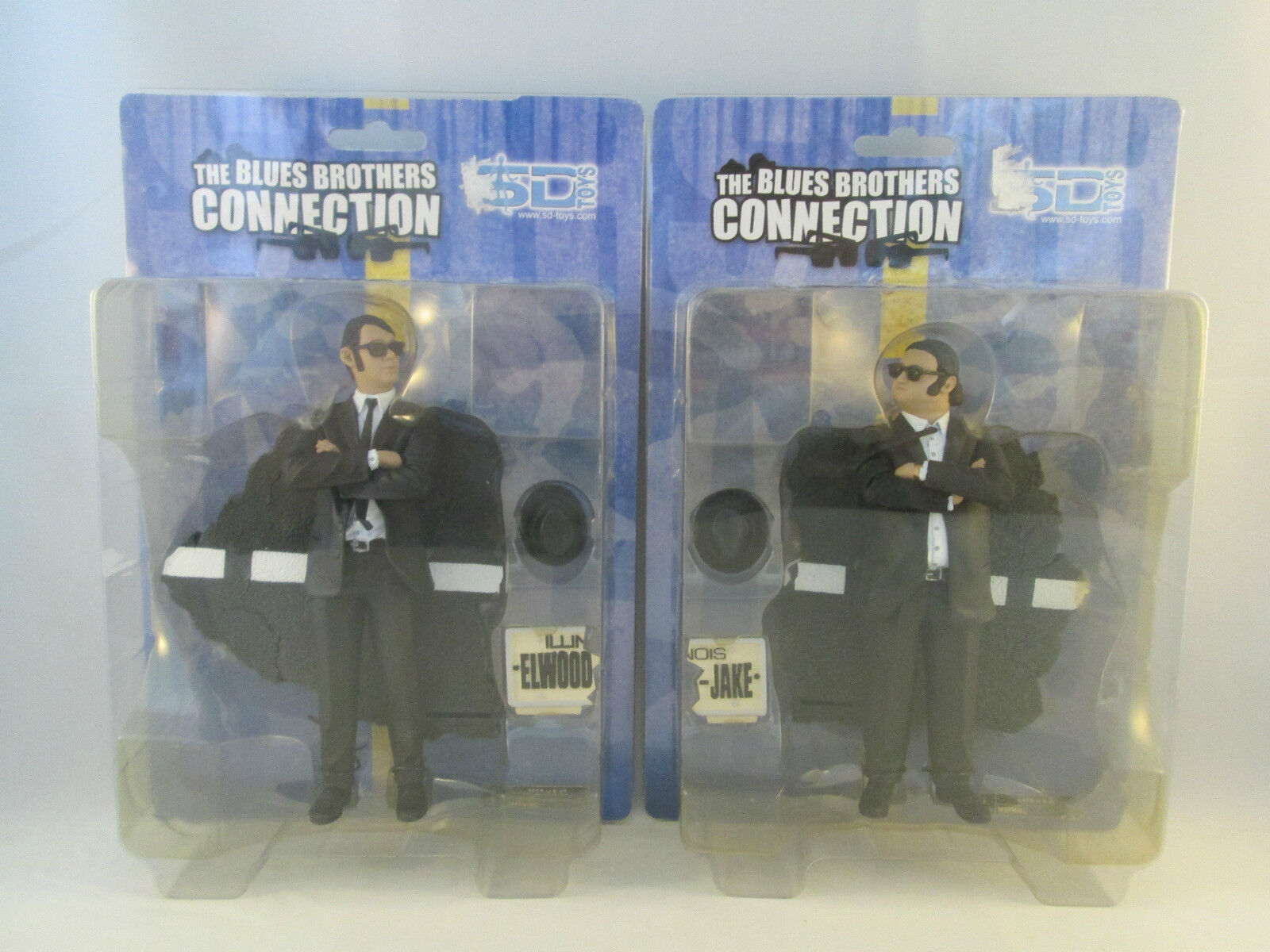 The azuls Brojohers Connection - Jake + Elwood NEW - SD Juguetes Acción Figura Set