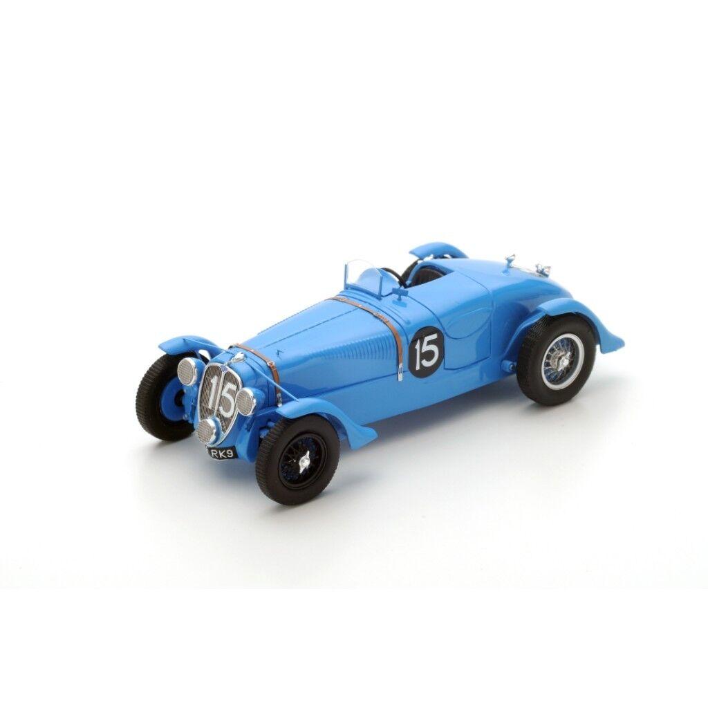 SPARK DELAHAYE 135S  15 Winner Le Mans 1938 E. Chaboud - J Trémoulet 43LM38 1 43