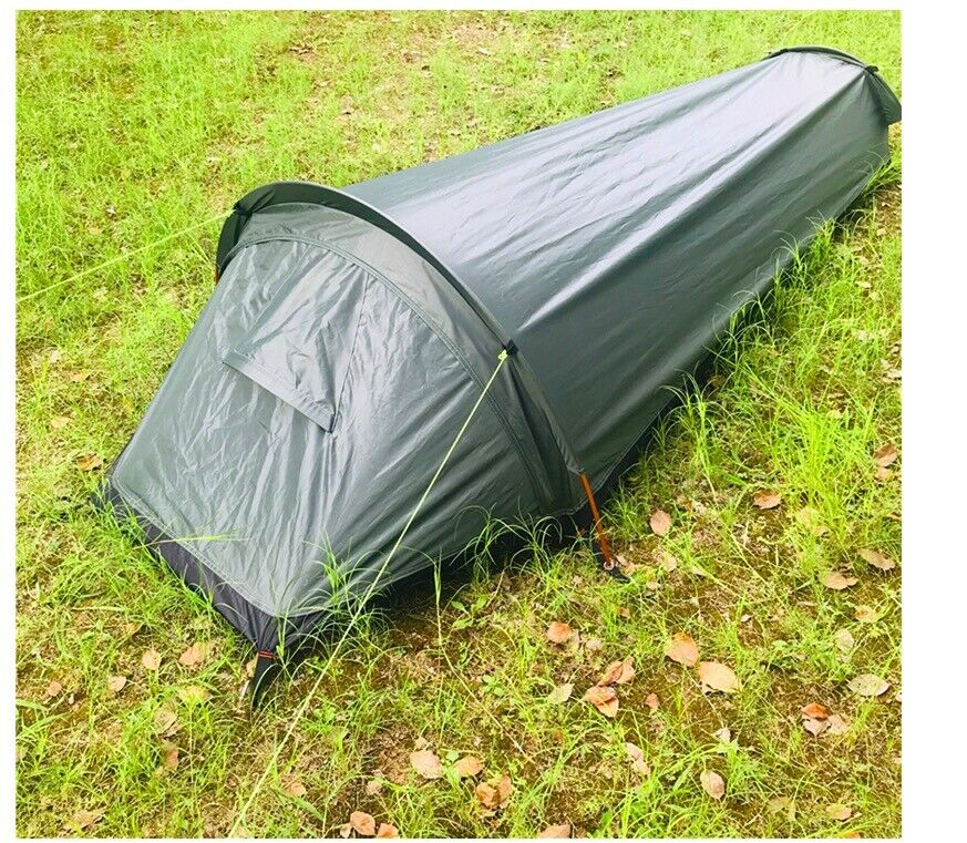 Smtutti Lightweight 1 One uomo Person Camo Army Military Hire Bivy Sack Camp Tent