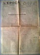 L'EPOCA DEL 1921 UN VOTO POLITICO ALLA CAMERA SULLA QUESTIONE DI PORTO BAROS 570