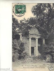 78-CPA-Jambville-Ruinen-eines-Tempel-Park-des-Chateau-I-3002