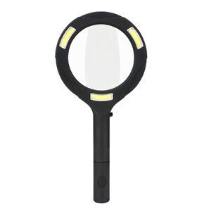 Vente Pas Cher 3 Del Loupe Lumineuse 3x Handheld Magnifier Lecture Objectif Verre Bijoux Loupe Us-afficher Le Titre D'origine