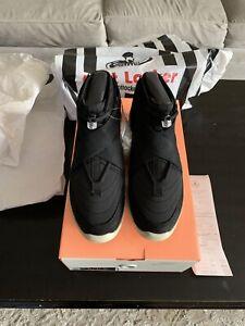 buy popular 51ce3 c0fd8 Image is loading Nike-Air-Fear-of-God-FOG-Black-Raid-
