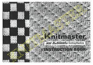 Instruction-Manual-302-Automatic-Knitting-Machine
