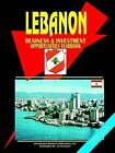 Lebanon Business and Investment Opportunities Yearbook by International Business Publications, USA (Paperback / softback, 2004)