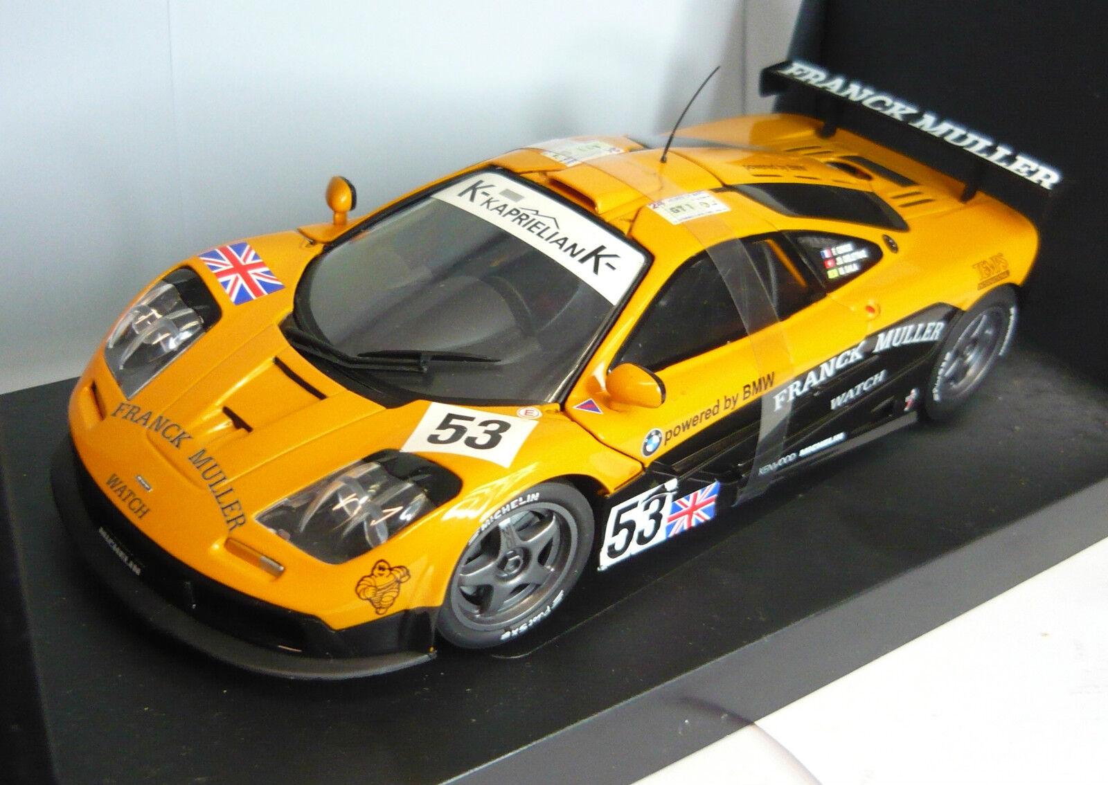 39622 mclaren f1 - modelle   53 gtr 1996 giroix   deletraz   sala, rar, 1   18 neu & ovp