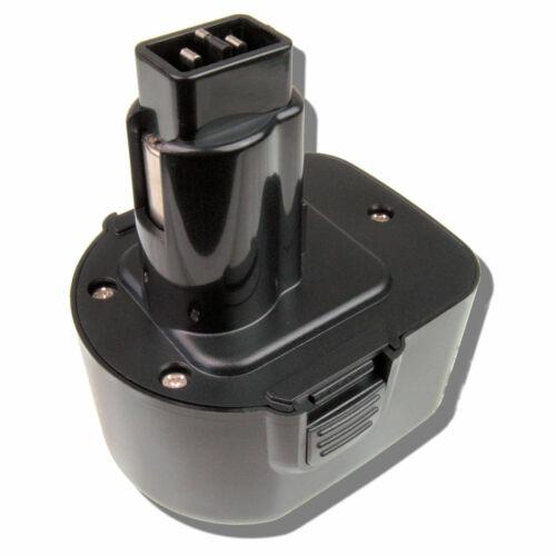 Akku für Black/&Decker 12V 2000mAh A9252 A9266 A9275 PS130 NiMh