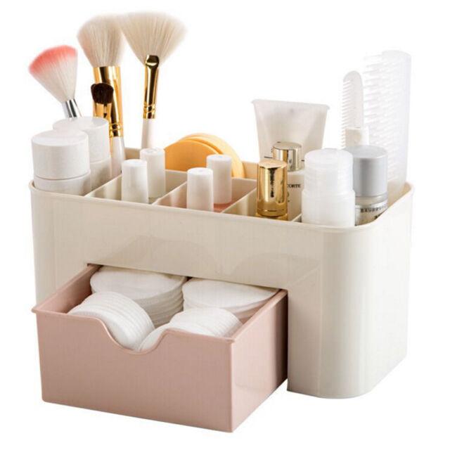 Saving Space Desktop Comestics Makeup Storage Drawer Type Box High Quality  Z