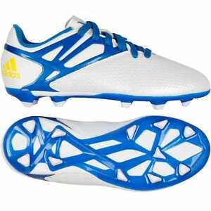 Details about adidas Messi 15.3 FG AG Mens Soccer Cleats Firm Astroturf Ground White