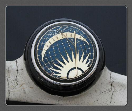 Vw Deluxe Horn Push Button Sun /& Moon Azul Negro Split Bus Beetle K Ghia T1 T2