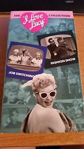 I Love Lucy Collection Volume 2 Vhs Job Switching Fashion Show Ebay