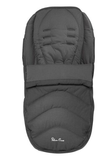 Silver Cross footmuff pursuit Flint Foot Muff Cosy Toes Grey Muff Reduced Sale!