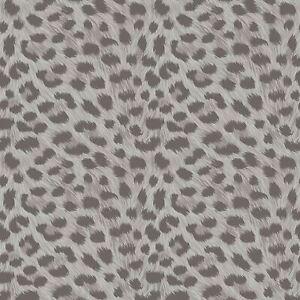 FD42467 Fine Decor Silber Tropica Tiere Muster Tapete Metallisch Höhepunkte