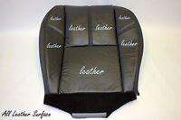 2007 To 2009 Gmc Yukon Denali Passenger Side Bottom Leather Seat Cover Black
