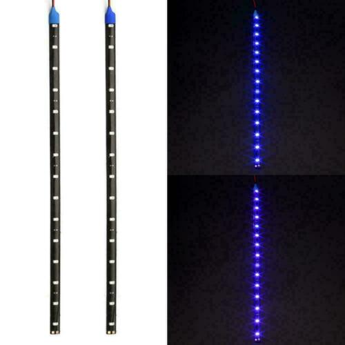 12 LEDs 30cm 5050 SMD LED Strip Light Flexible Car 12V Waterproof F1D7