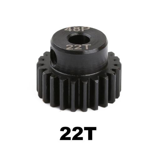 48P 3.17mm Metal Motor Gear for 1//10 Axial SCX10 RC Crawler Car Accessories