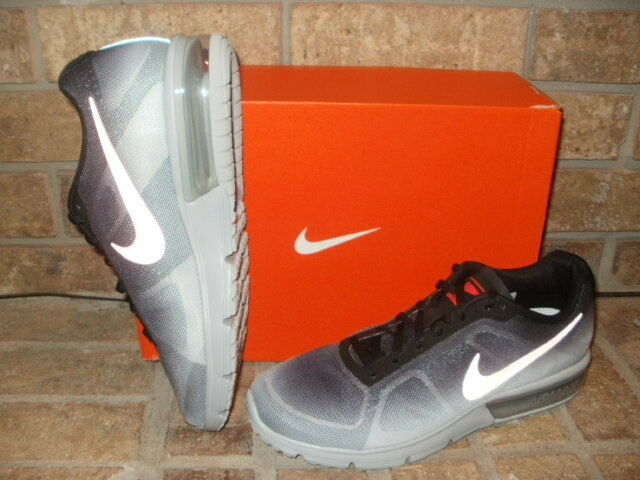Nuove nike air max successive Uomo scarpa da corsa / argento metallico di colore cremisi 100