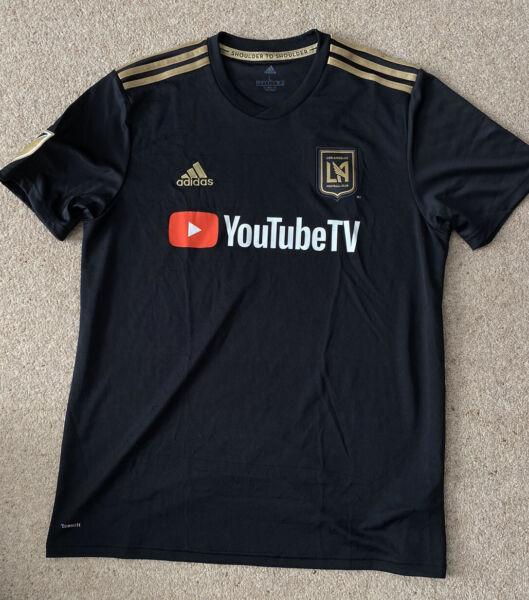 Los Angeles FC Home Shirt 2019 - Large - Adidas LAFC - BNWT ...
