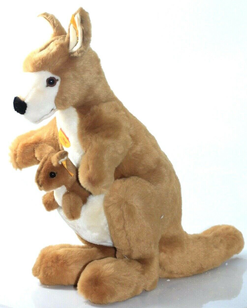 Steiff bearsOriginal Kango Kangaroo with Baby new -Ean 062711