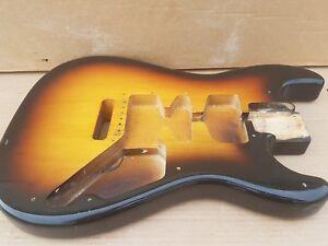 1986 Squier By Fender Bullet Strat Body-made In Japan-afficher Le Titre D'origine Facile à RéParer