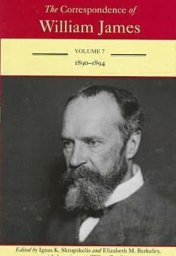 The Correspondence Of William James: 1890-1894