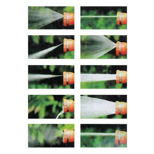 Multifunktionsbrause 6in1 Gartenbrause Gartenspritze Handbrause Sprühdüse L 70cm
