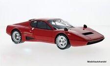 Ferrari 365 gt4 bb Competizione Plain body versión/plata llantas 1:18 CMF