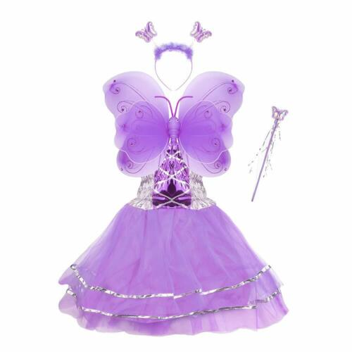 Girls Dress Up Princess Fairy Costume Set