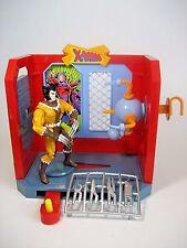 Toy Biz Lot Danger Room Wolverine Combat Room 1994 & Wolverine Fang Figure 1995