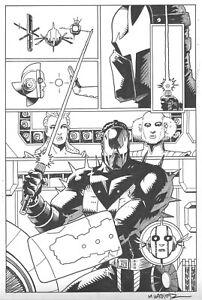 GRENDEL: DEVIL'S ODYSSEY # 8 Pg. 13 by MATT WAGNER! SIGNED!! GRENDEL PRIME!!!