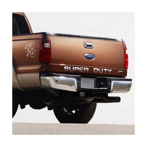 """/""""Super Duty/"""" Trucks Tail Gate Chrome Letter Insert"""