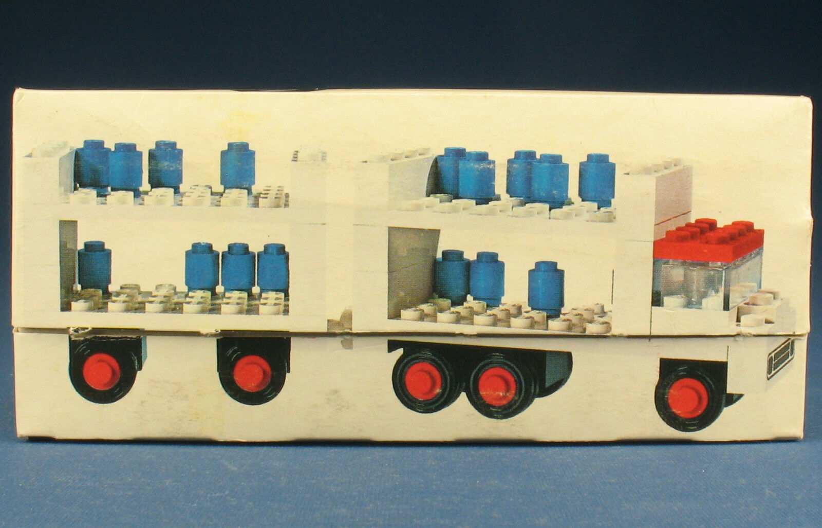 LEGO 645 - Milchwagen LKW - Milk Float & Trailer - in OVP   Legoland Box - 1971